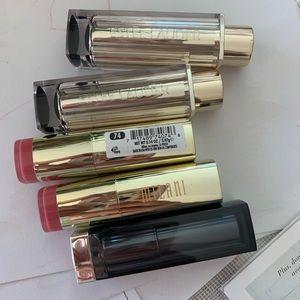 5 lipsticks in a whole sale estee lauder milani